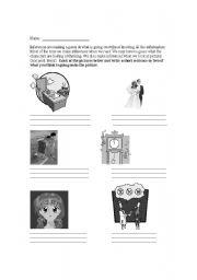 English Worksheet: Non-print inferences