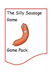 English Worksheets: The Silly Sausage Game
