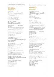 English Worksheets: The Climb - Miley Cyrus
