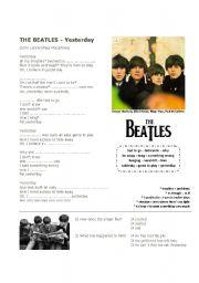 English Exercises: Yesterday - The Beatles