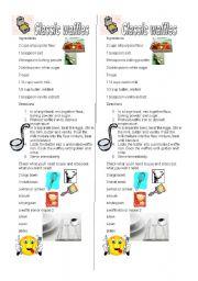 English Worksheets: Waffles