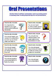 English Worksheet: Conversation Cards