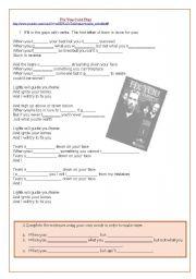 English Worksheet: Fix You - ColdPlay