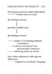 English Worksheets:  LESSON: society
