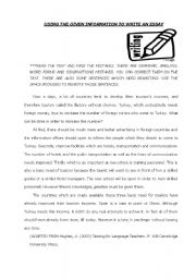 Printables Paragraph Correction Worksheets english teaching worksheets error correction exercise for writing