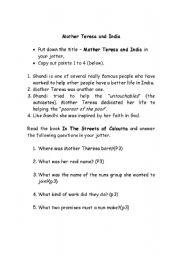 English teaching worksheets: People