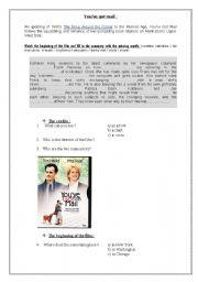 you´ve got mail worksheet