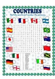 All these worksheets and activities for teaching Countries have been ...