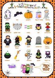 Halloween - Pictionary