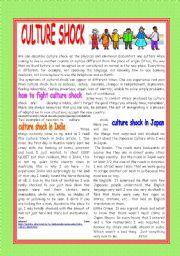 English Worksheets: CULTURE SHOCK