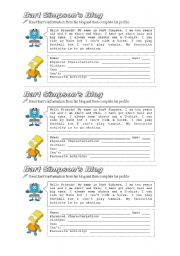 English Worksheets: Personal in formation