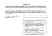 English Worksheets: Inquiry Study - Te Hangi