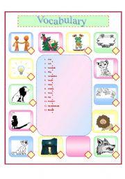 English Worksheets: Kadiki the Lion Cub