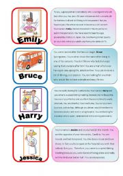 Speed Dating Role Play EXTRA cards 1