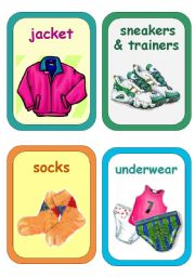Clothes Flashcards 2-5