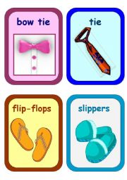 Clothes Flashcards 3-5