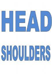 English Worksheets: head shoulders