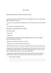 English Worksheets: Ananse�s Feast