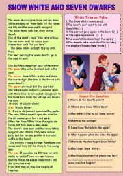 Snow White and the Seven Dwarfs - Play Script - ESL
