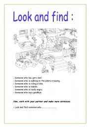 photo relating to Look and Find Printable named Glimpse and uncover - ESL worksheet by means of crimson witch