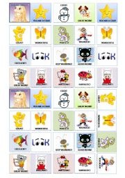 English Worksheet: Stickers and awards