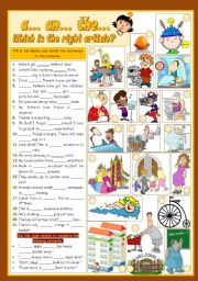 English Worksheet: A...An...THE...
