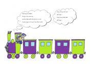 English Worksheets: Chug chug