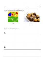 English Worksheets: Choose 1