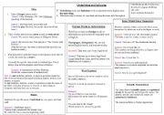 English Worksheets: Underlining and Italicizing