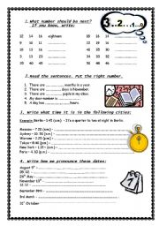 numbers are all around us esl worksheet by marywell. Black Bedroom Furniture Sets. Home Design Ideas