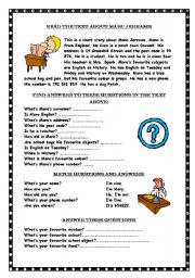Printables Reading Comprehension And Questions Worksheets english worksheets reading comprehension page 51 comprehension