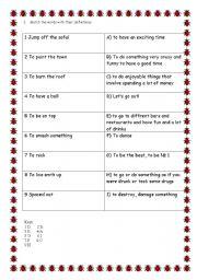 English Worksheets: Black Eyed Peas I�ve gotta feeling...
