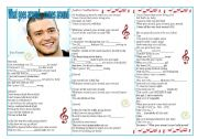 English Worksheet: Song: What goes around... comes around (Justin Timberlake) - Past Simple Practice ((2 pages)) ***fully editable