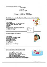 English Worksheets: Writing Expressions