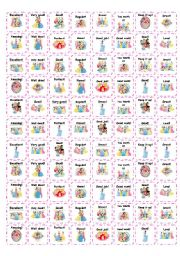 English Worksheet: Reward stickers - Princesses