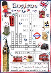 English Worksheet: England