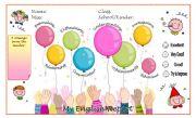 English Worksheets: Evaluation Sheet