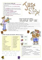 English Worksheets: Shopping
