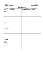 english teaching worksheets general vocabulary. Black Bedroom Furniture Sets. Home Design Ideas