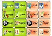 irregular verbs- memory game