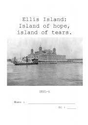 Ellis Island Project Part 1