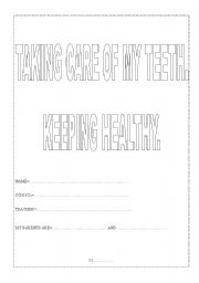 English Worksheets: Healthy teeth