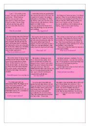 English Worksheet: FAMILY PROBLEMS