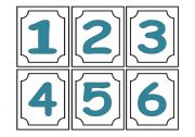 English Worksheet: Go Fish Game - Numbers and colours