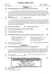 English Worksheets: Paper