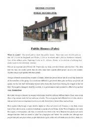 English Worksheets: British Printable