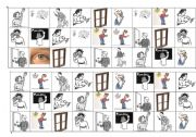 English Worksheet: classroom instructions bingo cards 2