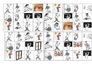 English Worksheet: classroom instructions bingo cards 3