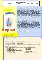 English Worksheets: Magdy Yagoub