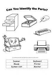 Printables Parts Of A Computer Worksheet parts of a computer worksheet printable worksheets esl and exercises